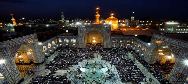 Holy shrines of Iran