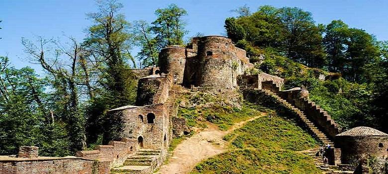 Iran tour-Gilan-Rudkhan castle