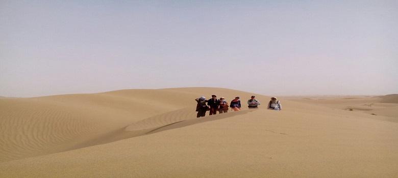 La beaute du désert, Iran