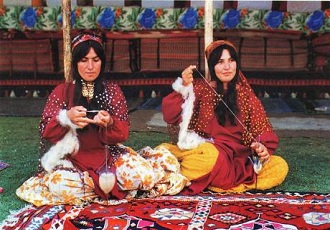Zagros mount, black tent, trip to nomads, nomadic life during summer