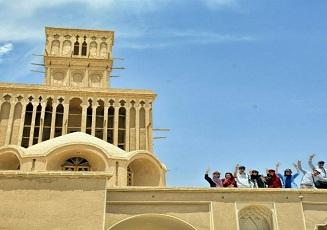 La maison de Aghazadeh dans la ville historique Abarkouh