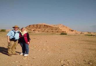Excursion à Choga Zanbil, site inscrit a la liste du patrimoine mondial par l'unesc
