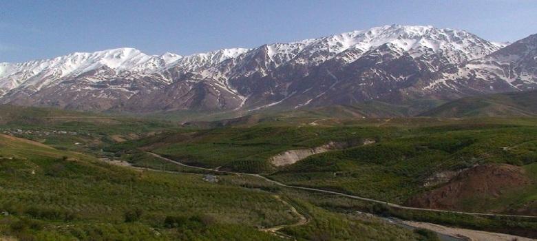 die Iran Bergtouren-der Dena Berg