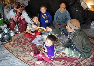 Night stay with Nomads, Accommodation with Iranian Nomads, Nomads of Iran