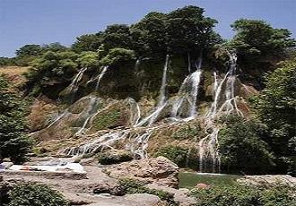 Fili Waterfall in Fars province, daily tours from Shiraz, Merziun Region, Zagros