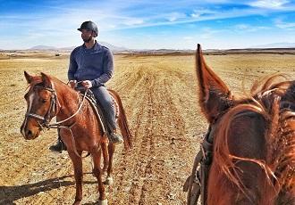 Faire du cheval au nature Iran