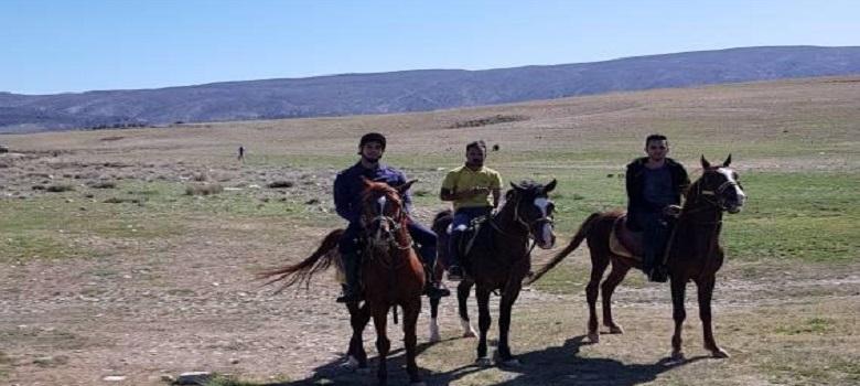 Plan pour faire l'équitation en Iran