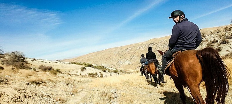 Balad à chevale en Iran