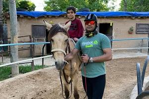 Shiraz horse riding club, Iran travel agency
