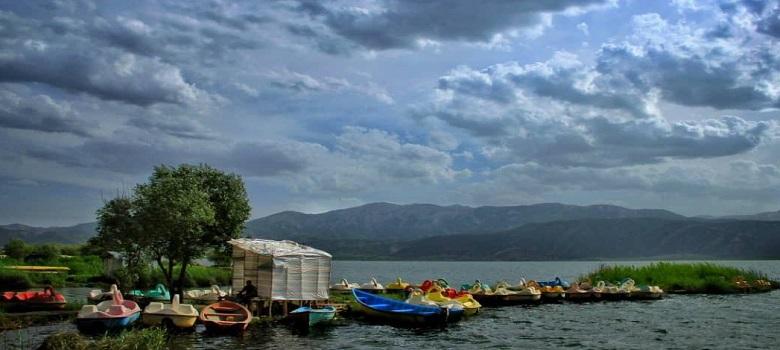 Tour zum Iran-Zarivar See