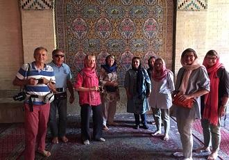 La mosquée rose,Chiraz,Iran