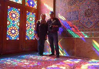 Court voyage, Mosquee de Nasir, shiraz, Iran