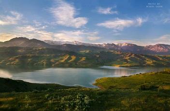 Lake tour of Iran