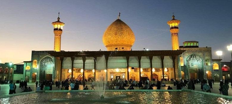 Mausolée de Shah-e Cheragh a Chiraz