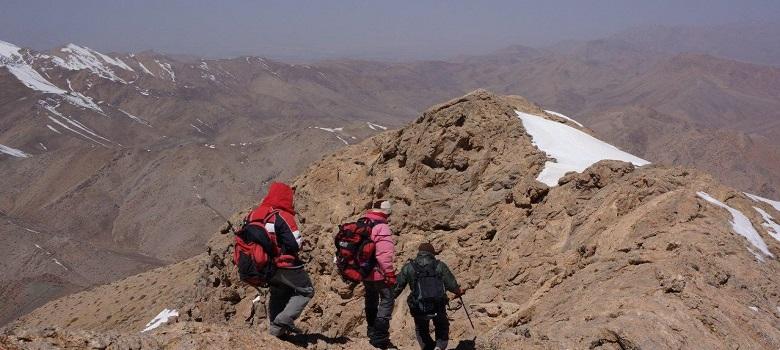randonnée pédestre en montagne Iran