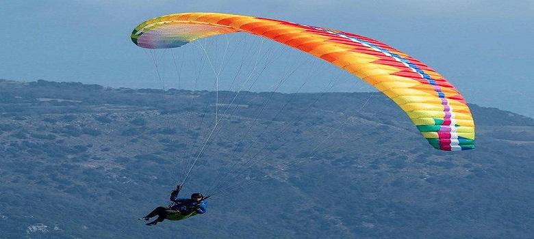 Iran Paragliding Flight Tour