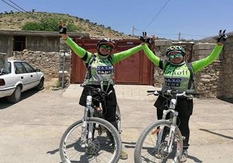 cycling through Iran