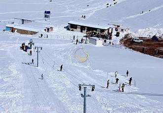 Ski resorts in iran
