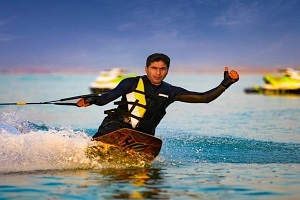 Iran water ski tour