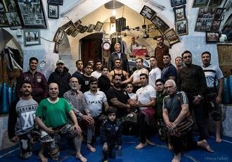 Sports traditionnels de Zurkhaneh en Iran est un partie d'ethnique Iranien