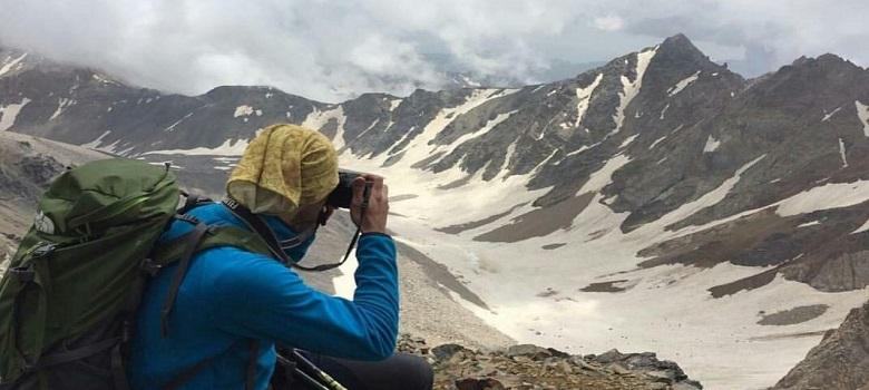 die Iran Bergtouren-der Alam kuh Berg