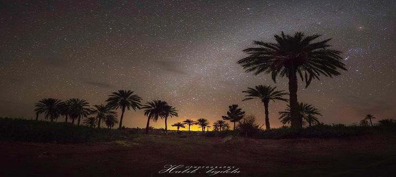 Vu du ciel au nuit,Iran