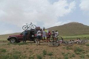 Viajes en bicicleta en la provincia del Pars