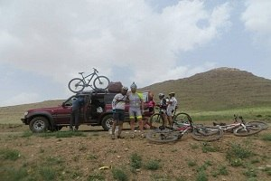 Iran bike riding excursions, Iran bike tours, Zagros, Pars Province