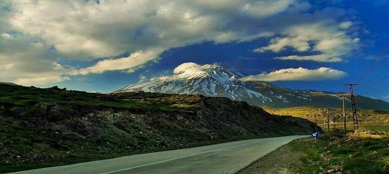 Excursiones a las montañas de Irán-Damavand Flanco Sur