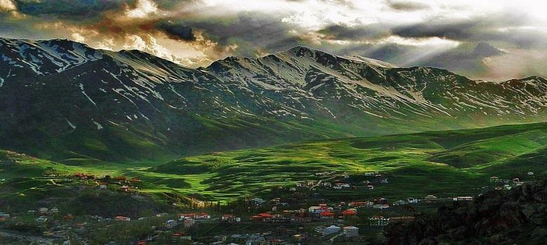 Tour de escalada en Irán-Damavand Flanco Sur