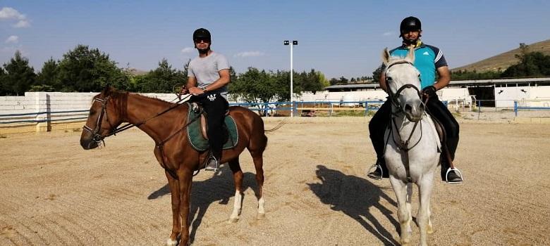 Équitation à l'Hippodrome