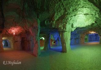 Des grotte artificielle  en Iran