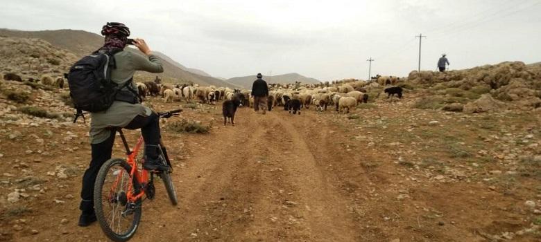 Iran Radtour,Zagros Paradies Weg