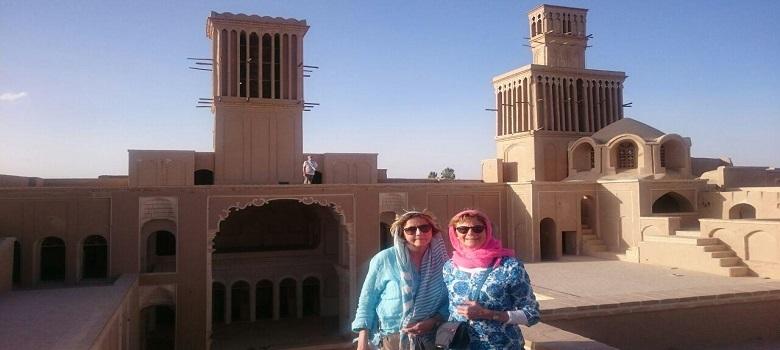 Yazd the city of Windcatchers, Windcatchers in Yazd, visit Windcatchers in Yazd