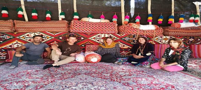 Die iran nomaden Leute