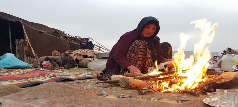 Die Nomaden menschen-Gheshlagh