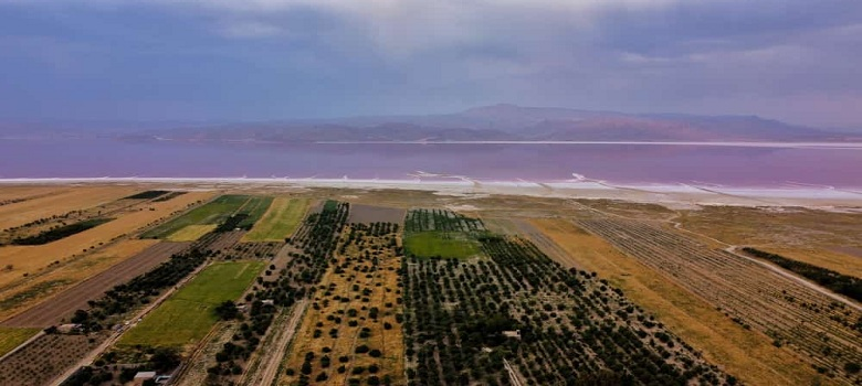 où est Lac Salé en Iran?