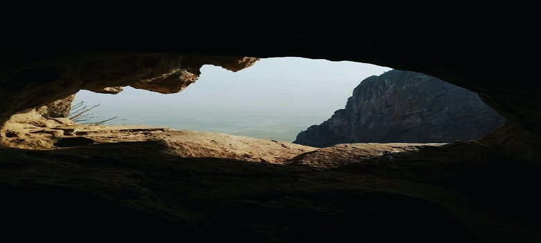 natural cave in Iran