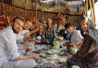 die Iran Nomaden-Yeylaq
