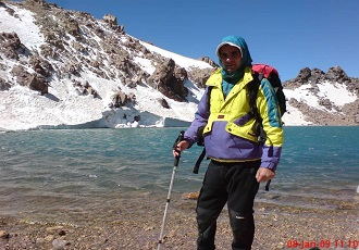 die Iranische Bergtouren-der Sabalan Berg