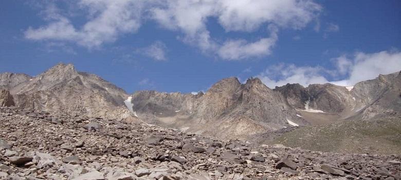die Iran Berge-der Sabalan Berg