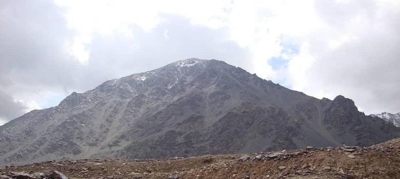 Besuchen Sie den Iran-der Sabalan berg