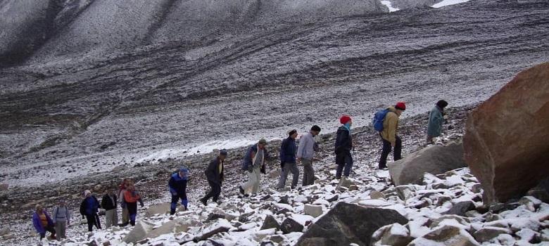 der Sabalan Berg besteigen-der Sabalan Berg