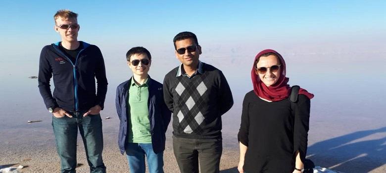 Pink Lake Tour in Iran