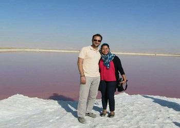Iran Salt Lake tour