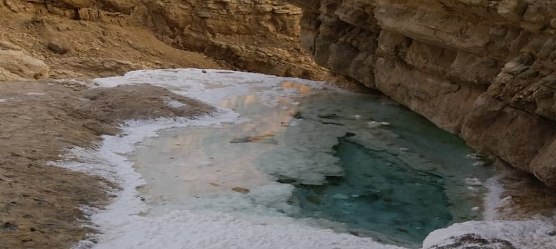 Tour to Jashak Salt Dome in south of Iran