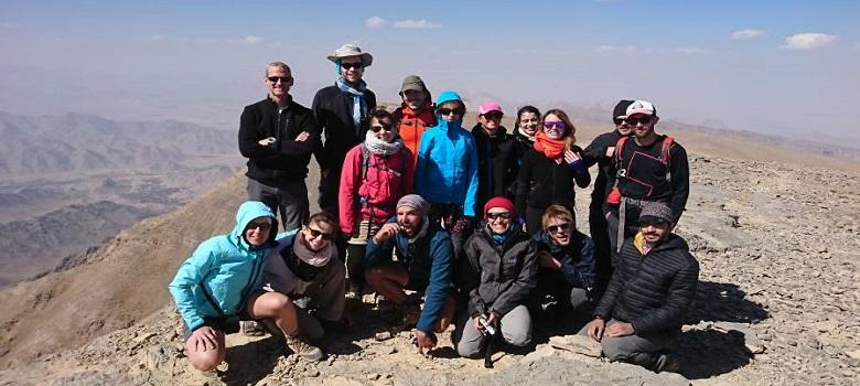 die Iran Bergtouren-der Shirkooh Berg