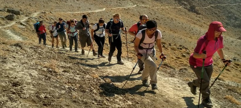 der Iran Berge-der Shirkooh Berg