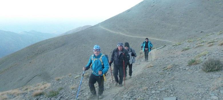 die Tour zum Iran-der Shirkooh Berg