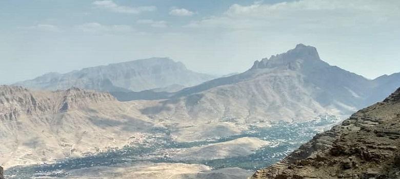 der Aufsteigender Shirkooh Berg - der Shirkooh Berg